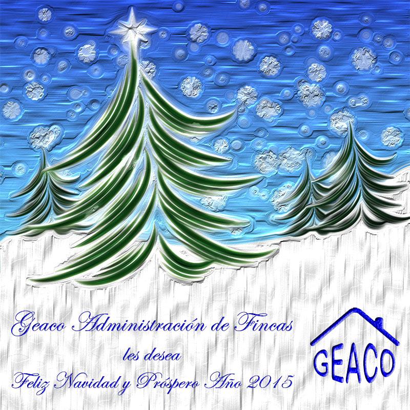 Geaco Administración de Fincas Feliz Navidad